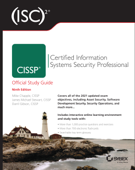 (ISC)2 CISSP Certified Information Systems Security Professional Official Study Guide Book Cover