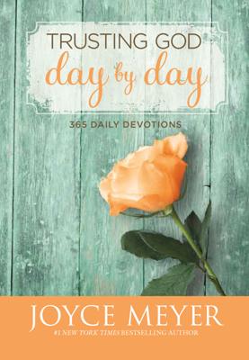 Trusting God Day by Day - Joyce Meyer book