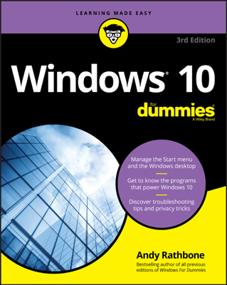 Windows 10 For Dummies - Andy Rathbone book