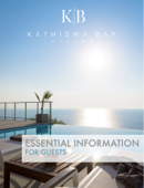 Kathisma Bay Villas - Essential Information for guests 2018