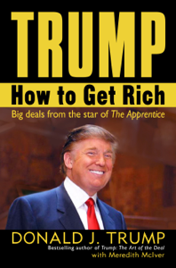 Trump: How to Get Rich Libro Cover