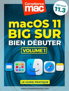 macOS Big Sur vol.1 : Bien débuter Couverture de livre