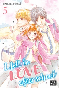 I fell in love after school T05 Book Cover