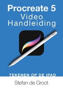 Procreate 5 Video Handleiding Boekomslag