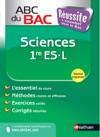 ABC Russite Bac Sciences 1re ES-L