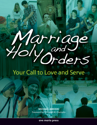 Marriage and Holy Orders - Michael Amodei book
