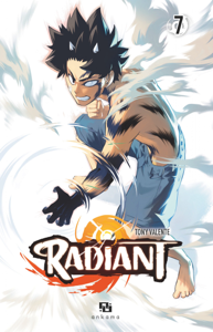 Radiant - Tome 7 La couverture du livre martien