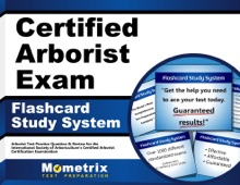 Certified Arborist Exam Flashcard Study System