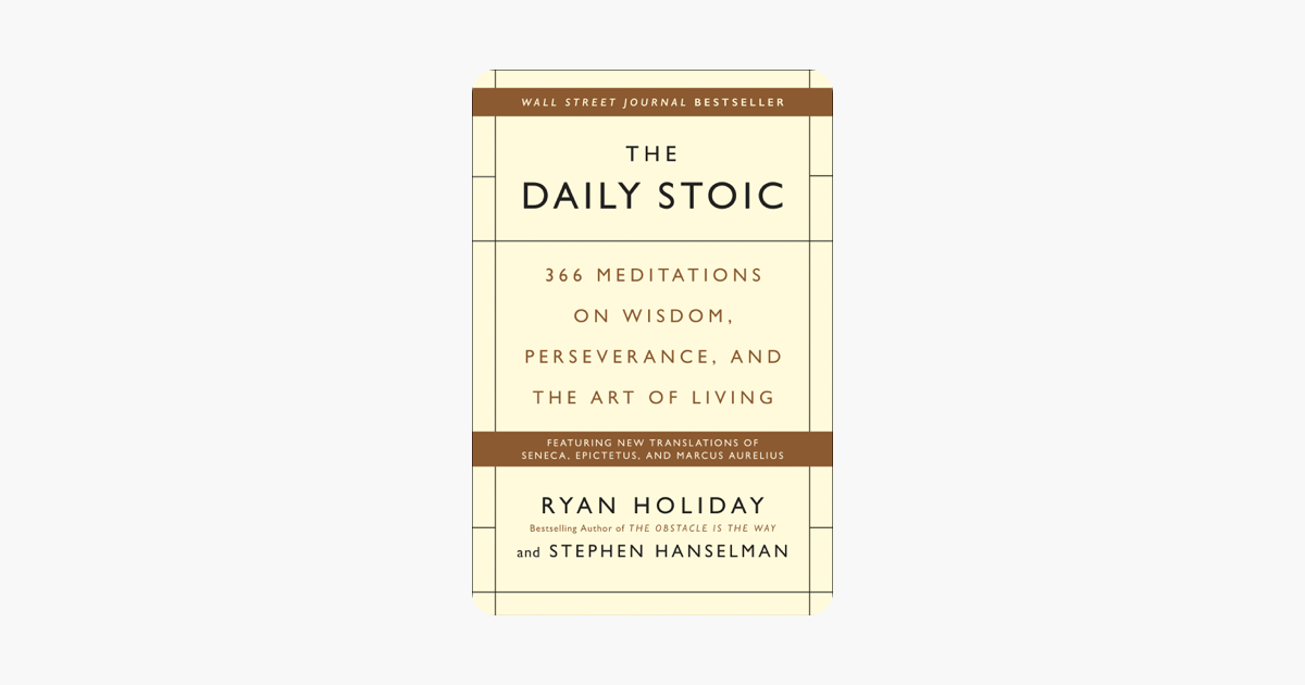 ‎The Daily Stoic