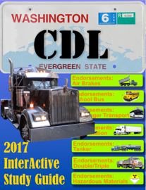 CDL Washington Commercial Drivers License book