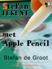 Stefan de Groot - Stefan Tekent met Apple Pencil  artwork