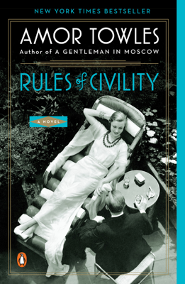 Rules of Civility - Amor Towles book