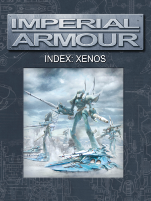 Imperial Armour Index: Xenos - Games Workshop book