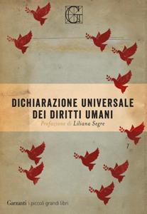 Dichiarazione universale dei diritti umani Copertina del libro