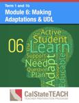 Module 6: Making Adaptations & UDL