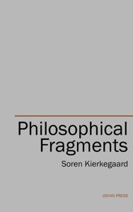 Philosophical Fragments La couverture du livre martien
