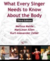 What Every Singer Needs To Know About The Body Third Edition