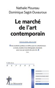 Le marché de l'art contemporain La couverture du livre martien
