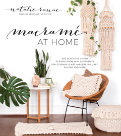 Macramé at Home book