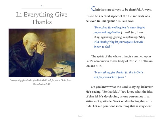 In Everything Give Thanks! on Apple Books