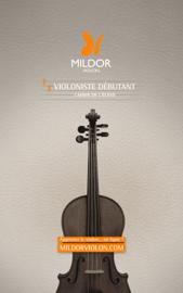 Violoniste débutant - Cahier de l'élève