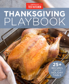 America's Test Kitchen Thanksgiving Playbook