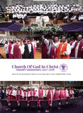 2017 2018 Annual Sunday School Lesson Commentary By Cogic Publishing