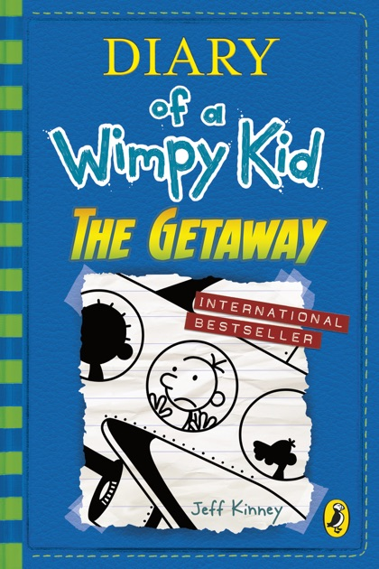 diary of a wimpy kid the getaway book 12 by jeff kinney on apple