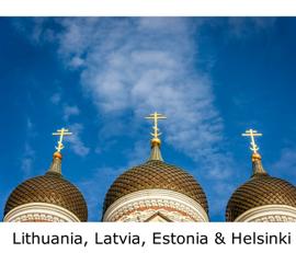 Lithuania, Latvia, Estonia & Helsinki book