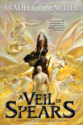 A Veil of Spears - Bradley P. Beaulieu book