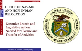 OFFICE OF NAVAJO AND HOPI INDIAN RELOCATION