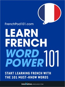 Learn French - Word Power 101 Book Cover