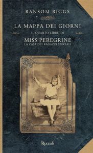 Miss Peregrine. La mappa dei giorni Copertina del libro