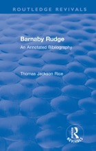 Routledge Revivals: Barnaby Rudge (1987 )