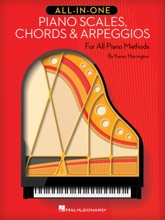 All-in-One Piano Scales, Chords & Arpeggios