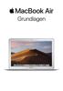 MacBook Air Grundlagen - Apple Inc.