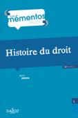 Histoire du droit. Introduction historique au droit et Histoire des institutions publiques Book Cover