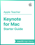 Keynote for Mac Starter Starter Guide macOS High Sierra