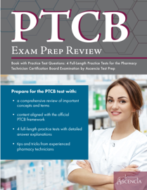 PTCB Exam Prep Review Book with Practice Test Questions book