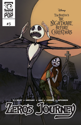 Disney Manga: Tim Burton's The Nightmare Before Christmas: Zero's Journey Issue #3 - Tim Burton & DJ. Milky book