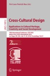Cross-Cultural Design Applications In Cultural Heritage Creativity And Social Development