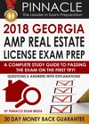 2018 GEORGIA AMP Real Estate License Exam Prep A Complete Study Guide To Passing The Exam On The First Try Questions  Answers With Explanations