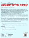 Translational Research In Coronary Artery Disease