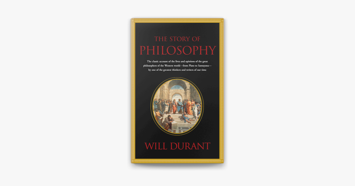 Story of Philosophy - Will Durant