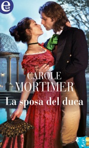 La sposa del duca (eLit) di Carole Mortimer Copertina del libro
