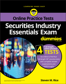 Securities Industry Essentials Exam For Dummies with Online Practice book