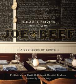 The Art of Living According to Joe Beef book