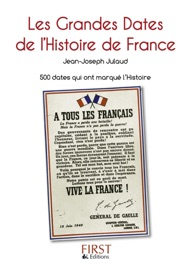PETIT LIVRE DE - GRANDES DATES DE LHISTOIRE DE FRANCE, 2E