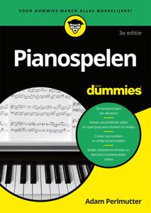 Pianospelen voor Dummies Boekomslag