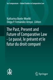 The Past Present And Future Of Comparative Law Le Pass Le Pr Sent Et Le Futur Du Droit Compar